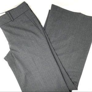 Ann Taylor Gray Modern Fit Wool Blend Pants